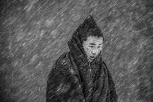 SPC Gold Medal - Yiliang Yang (China)  Little Monk In The Snow 4