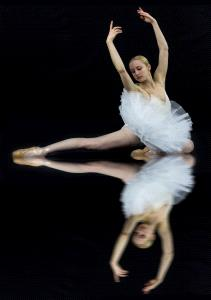 SPC Merit Award - Xin Xin Liang (USA)  Ballet Reflection