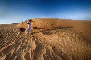 SPC Merit Award - Chiam Kaan Yuan (Malaysia)  Stroll In The Sand Dunes