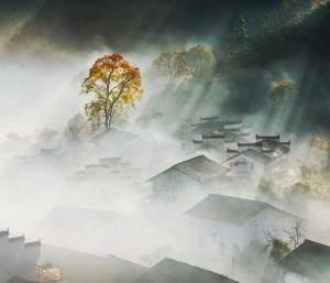 SPC Merit Award - Weidong Zhong (China) <br /> The Fog Around The Mountain Village