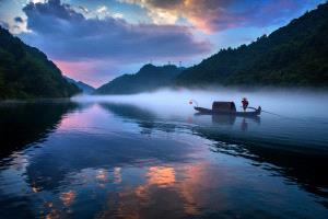SPC Merit Award - Qian Lou (China)  Morning Fishing