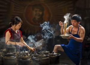 SPC Merit Award - Xuezhong Duan (China)  Breakfast