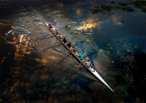 SPC Gold Medal - Hung Kam Yuen (Australia) <br /> Rowing Across The Sky 5