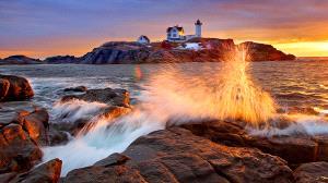 SPC Merit Award - Ken Lee (USA)  Nubble Lighthouse