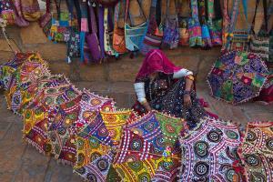 SPC Merit Award - Sounak Banerjee (India)  Veiled Lady Street Seller