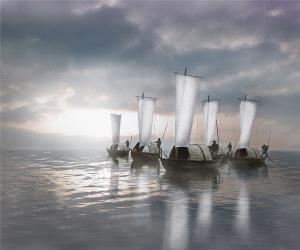 PhotoVivo Gold Medal - Weihua Huang (China)  Sail To The Sea
