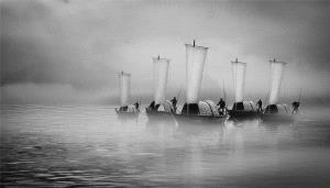 IUP Honor Mention - Weihua Huang (China) <br /> Mist Surrounded The Oujiang River