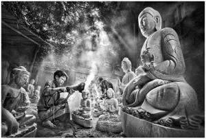 PhotoVivo Gold Medal - Wendy Wai Man Lam (Hong Kong) <br /> Buddha Maker 3