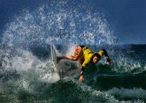 APU Gold Medal - Hung Kam Yuen (Australia)  Yellow Surfer