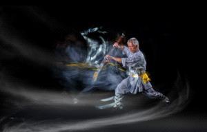 PhotoVivo Gold Medal - Pui-Chung Yee (Singapore) <br /> Shaolin Wu Sword Blaze Smoke