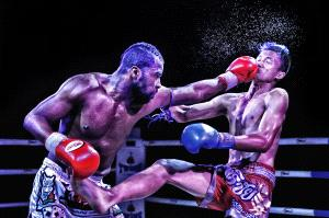 PhotoVivo Gold Medal - Say Boon Foo (Malaysia)  Muaythai In Action 4